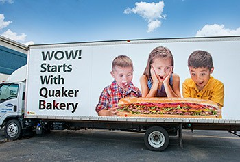 Fox Valley Bakery Delivery Truck